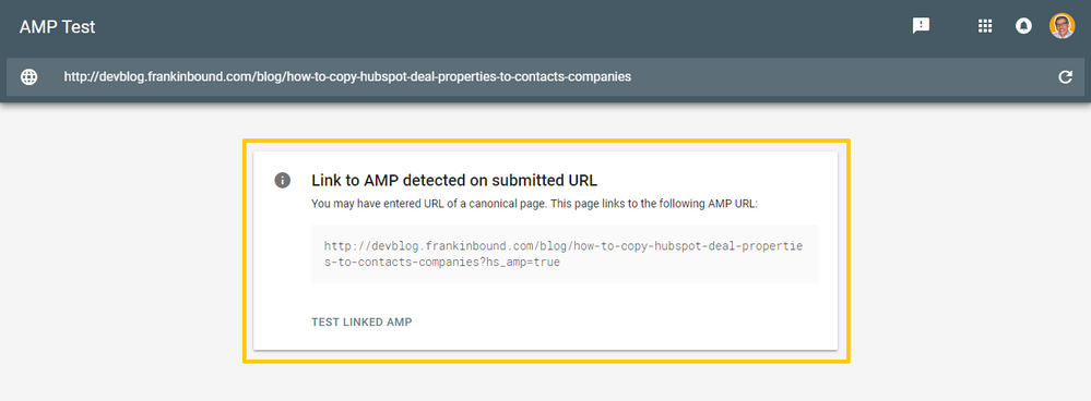 mfjlabs-screenshot-AMP Test - Links To AMP Page - Google Search Console-20180904-094210.png