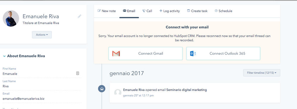 email issue
