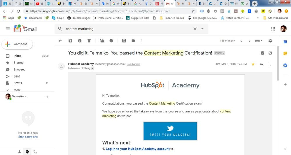 Content Marketing - Email