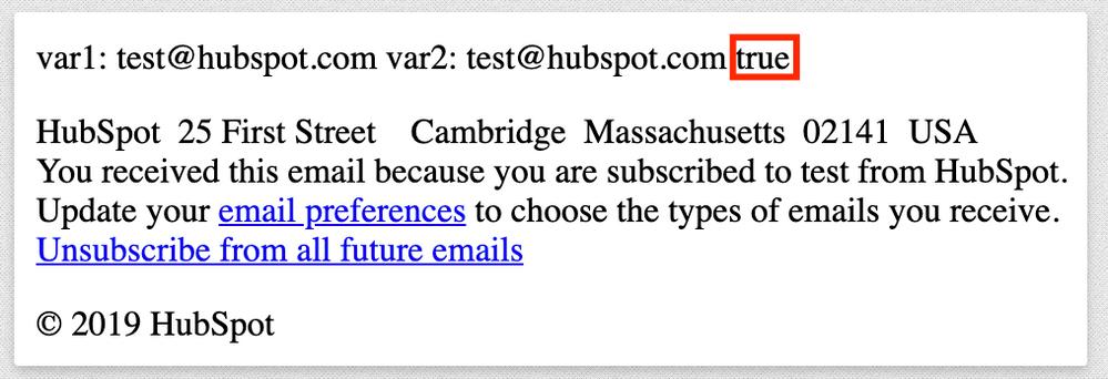Confirmed {% variable1 == variable2 %} is TRUE!