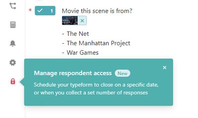Typeform Access Management Options