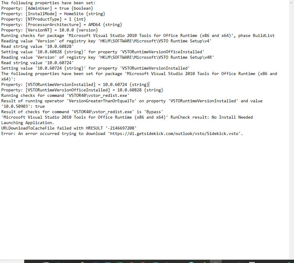 Look at error log