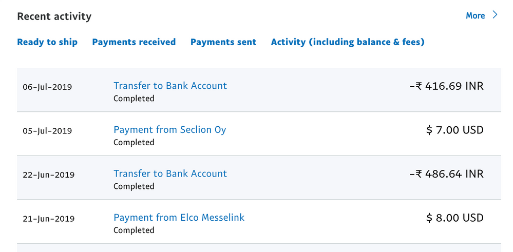 Paypal Transaction Dashboard
