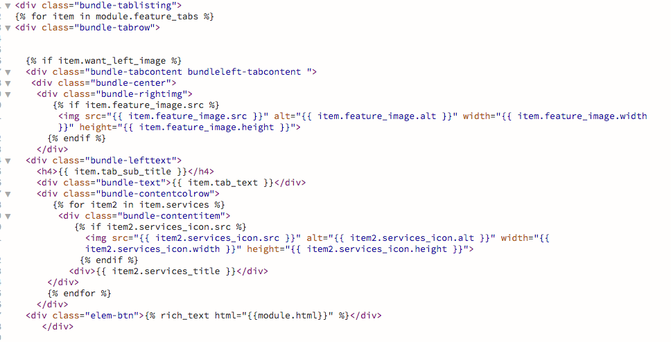 this is the HUBL code. i tried to insert a rich text code but it wont show