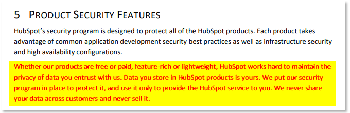 source: HubSpot Security & Risk Management Program Overview PDF (p.11)