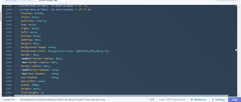 code screenshot for header.png