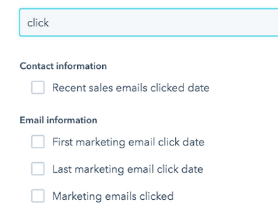 email click