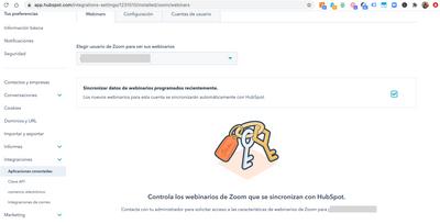 Configuracion Zoom_HubSpot_Andimol
