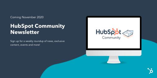 HubSpot Community Newsletter