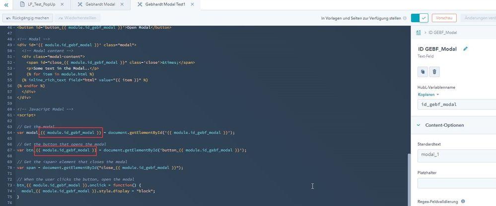 code of Hubspot module