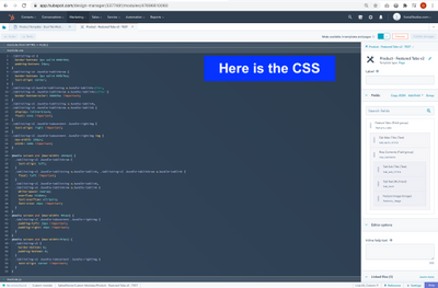 Here is the module (Produt - Featured Tabs v2 - TEST) CSS.png