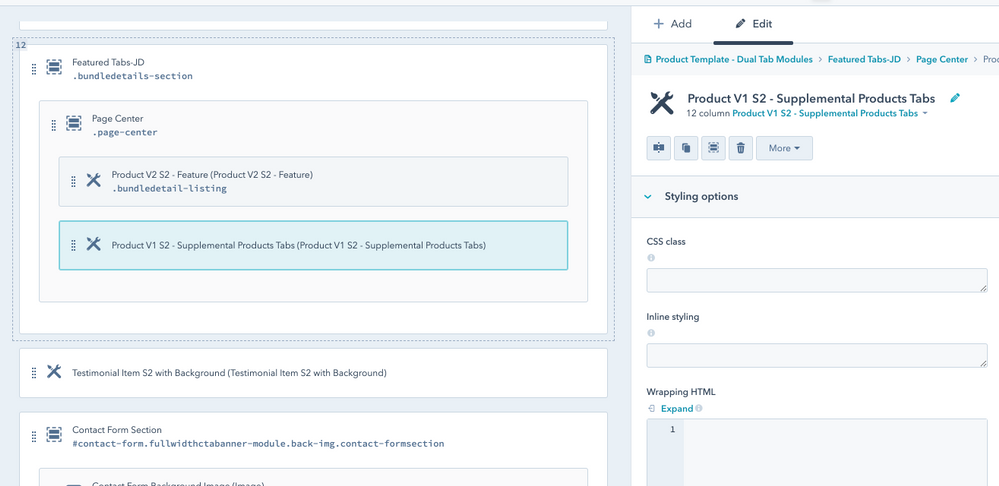 Product V1 S2 - Supplemental Products Tabs (screenshot-1)