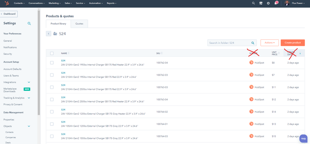 HubSpot Support - Product Library - Adding or Removing fields from the display.png