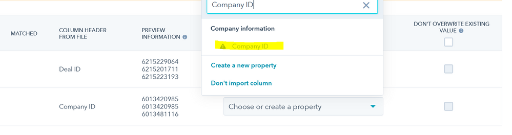 can't choose company ID.PNG