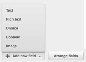 Add boolean field