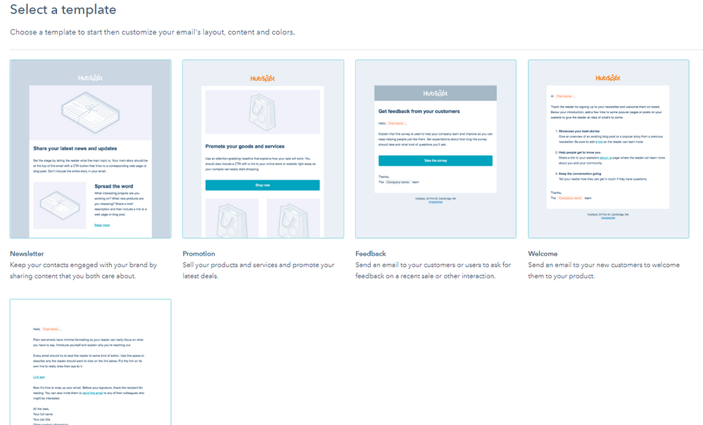 Hubspot Community Create Personalized Drag And Drop Email