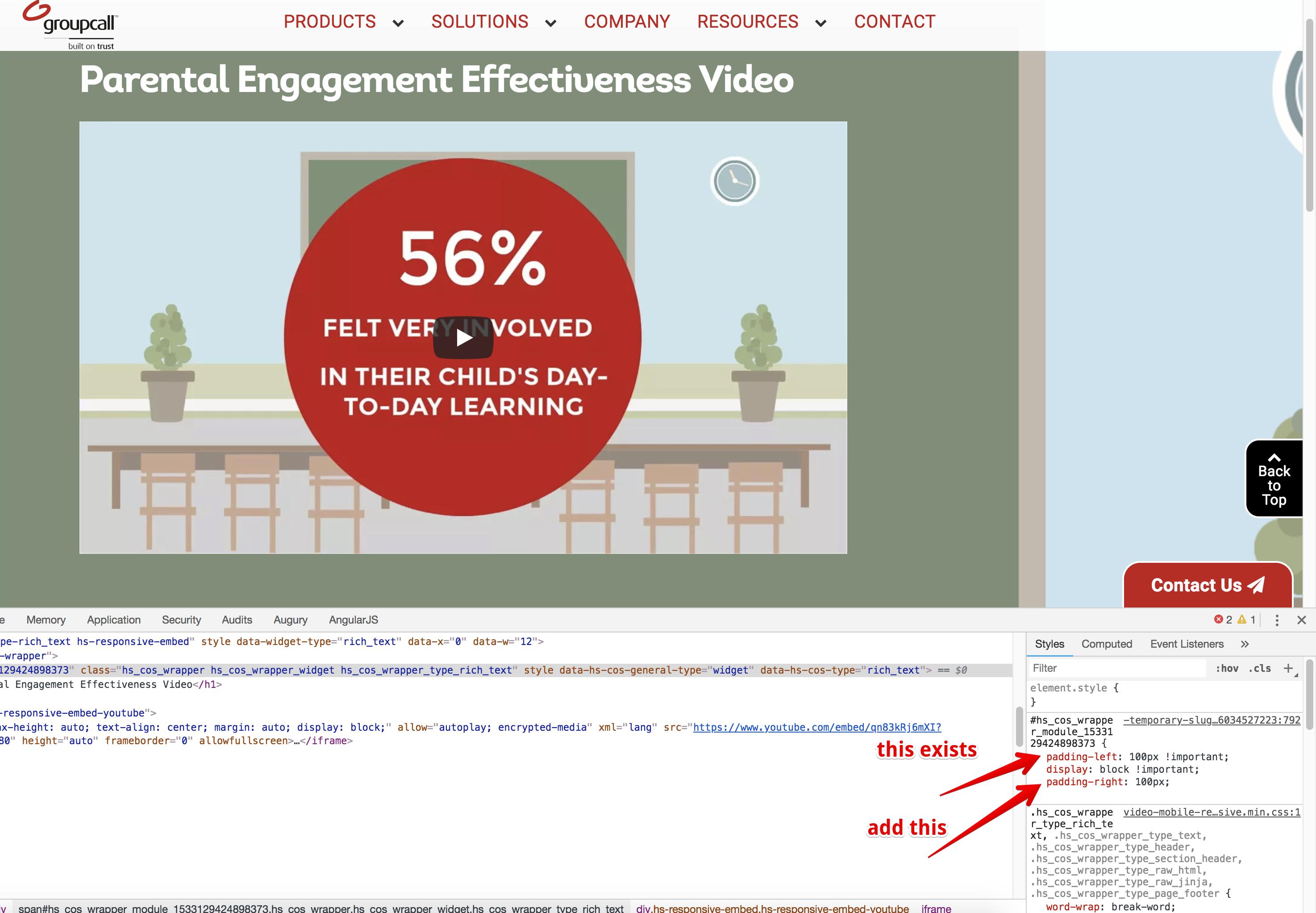Solved: HubSpot Community - Centering video - HubSpot Community