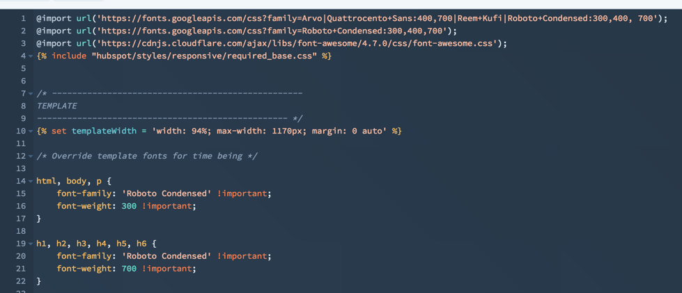 Solved: HubSpot Community - Updating Website Font - HubSpot