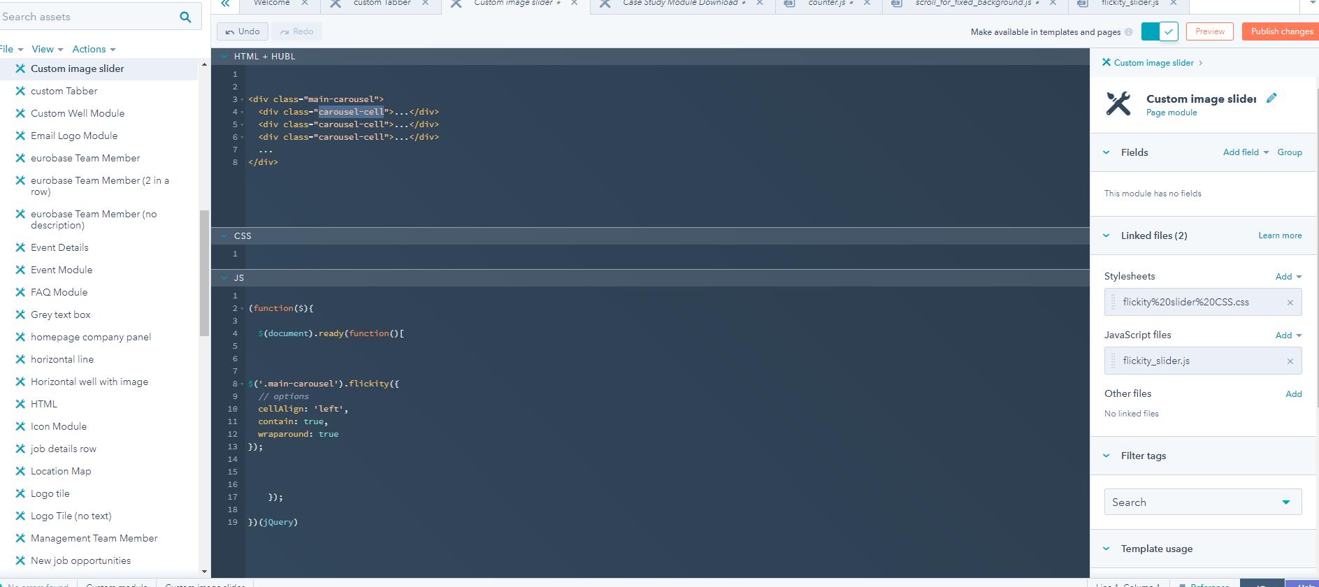 Solved: HubSpot Community - Custom image slider - HubSpot