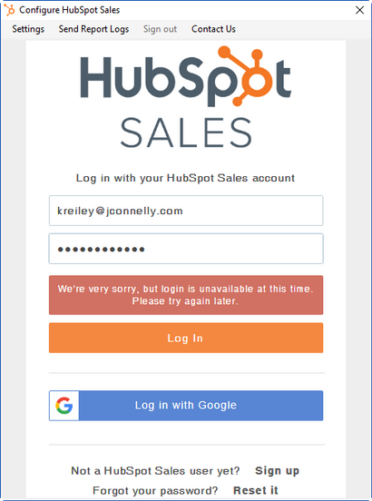 Solved: HubSpot Community - Fixing Outlook Error