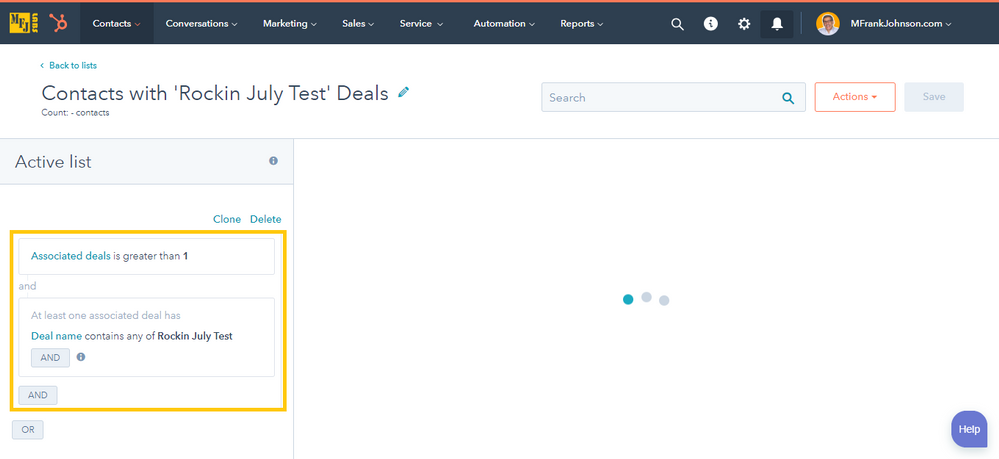 mfjlabs-screenshot-Contacts with 'Rockin July Test' Deals - Lists-20190311-154516.png