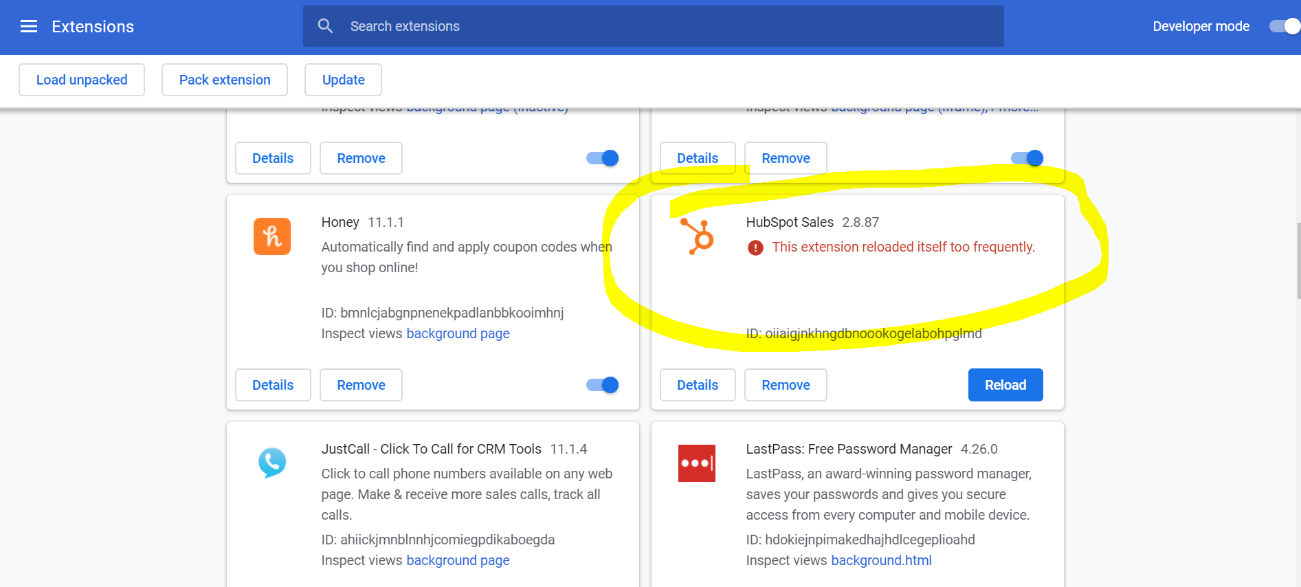 HubSpot Community - Chrome and Gmail extensions not working