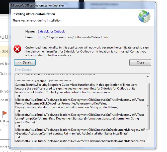 error message 1