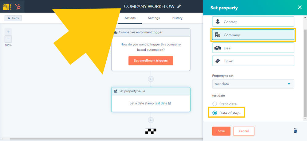 hubspot-workflows-company-date-of-step.png