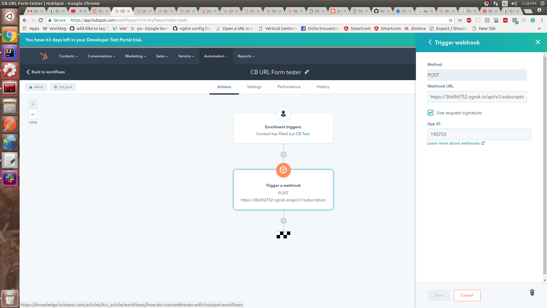 Solved: HubSpot Community - validate request implement in