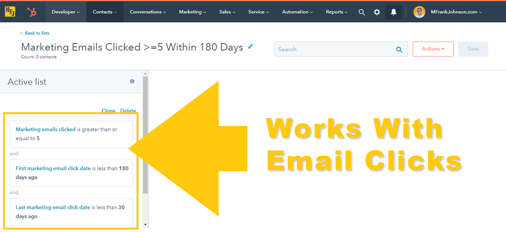 mfjlabs-screenshot-hubspot-Marketing-Emails-Clicked-greater-or-equal-5-Within-180-Days-Lists-20191108.png