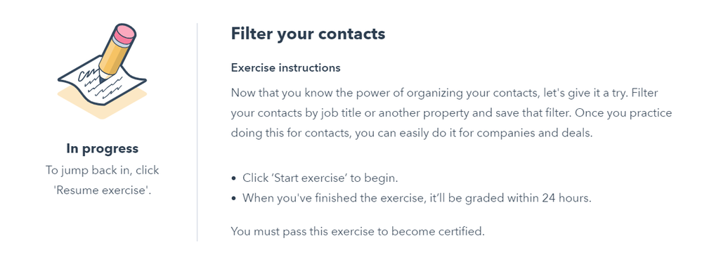 Hubspot Community How To Submit Practical Exercises Hubspot Community