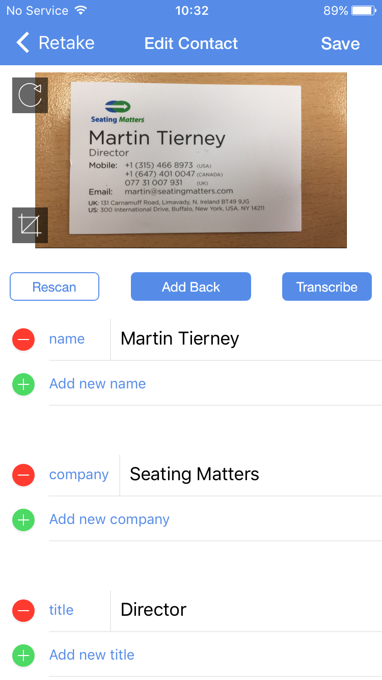 HubSpot Community - Business Card Scanning on iOS - HubSpot Community