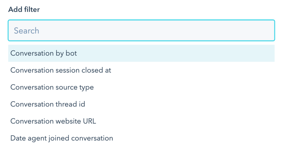 Chatbot Report Filter-Andimol
