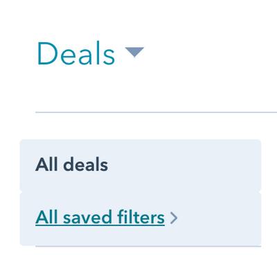 Deals Filters_Views-HubSpot_Andimol