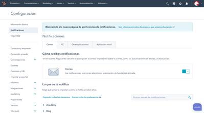 Configuracion de notificaciones_HubSpot_Andimol
