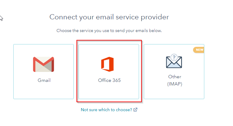 I select Office 365