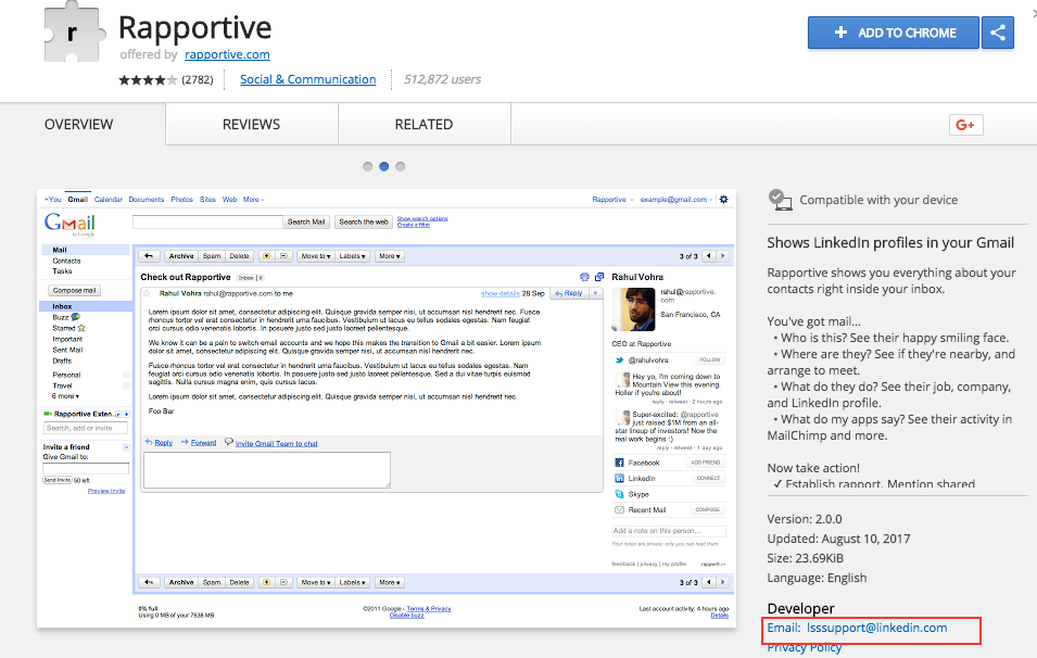 hubspot community rapportive in gmail hubspot community
