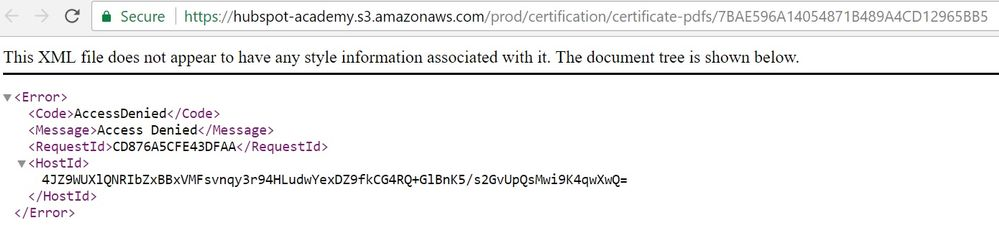 Solved: HubSpot Community - Inbound Certification Link Error ...
