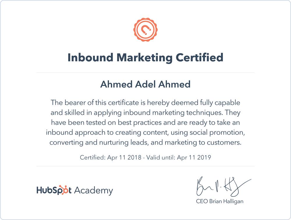Solved: HubSpot Community - Inbound Certification Issue - HubSpot ...