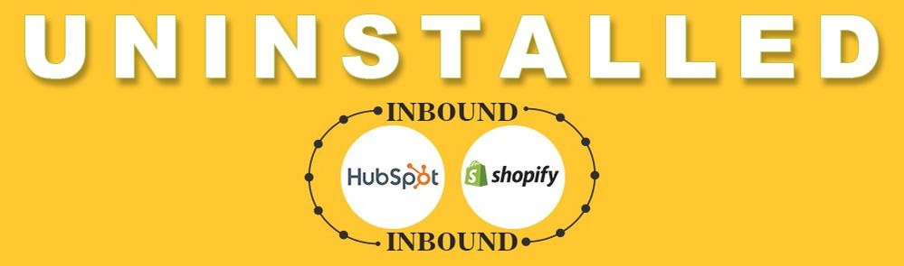 solved-hubspot-shopify-integration-uninstalled.png