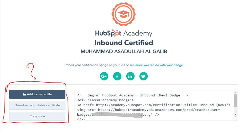 HubSpot Community - I have passed inbound certification but I don\'t ...